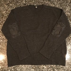 Men's Merino Blend Charcoal Sweater